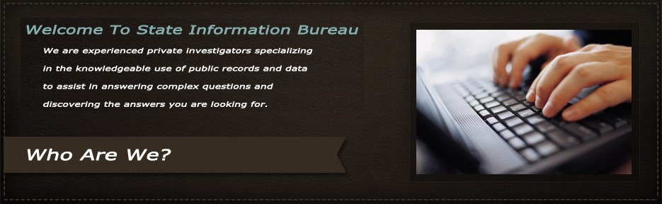 Welcome to state information bureau